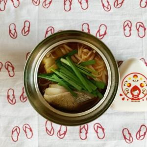 プチッと鍋で鱈のキムチ鍋弁当