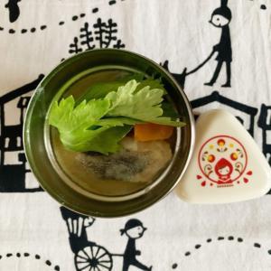 スープジャーで鱈のシチュー弁当