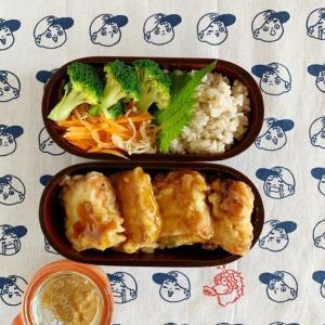 AppleWatchでカロリー消費がはかどるのと肉豆腐の天ぷら弁当