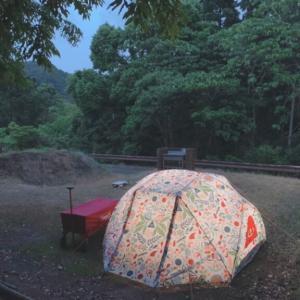 雨の1泊目、にゅーギアで2日目 40代ソロキャンプ女子の週末
