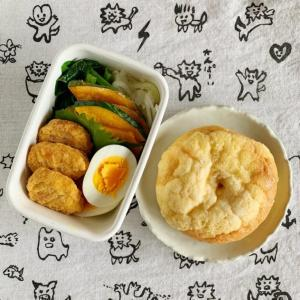 大阪府内にあるのに府民お断りらしいのとスイーツパン弁当