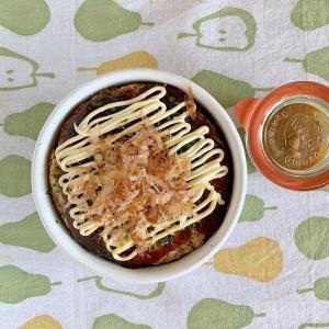 お好み焼き弁当とキャンプ飯はオムライス