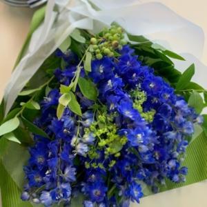 デルフィニウムの花束