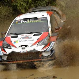 WRC トヨタやりましたよ!!