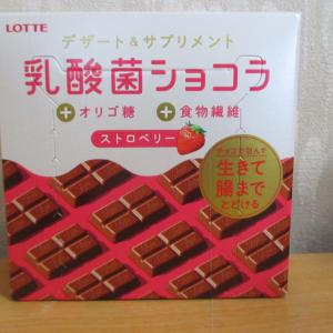ロッテ「乳酸菌ショコラ」買いました!