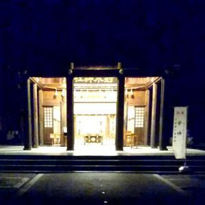 暗闇の神社