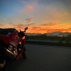 夕日の沈む時間