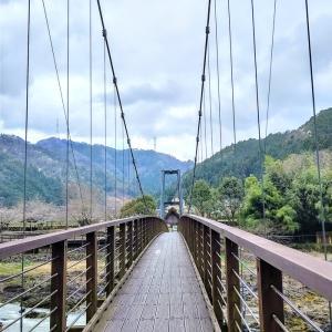 川代公園 吊橋