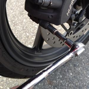 CBR250R ブレーキ交換