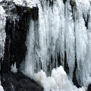 凍る滝~飛竜の滝~兵庫県佐用~