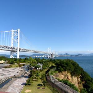岡山~瀬戸大橋~与島パーキングエリア