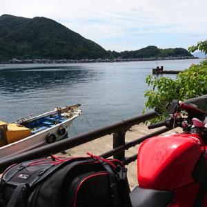 伊根へ海とバイクと