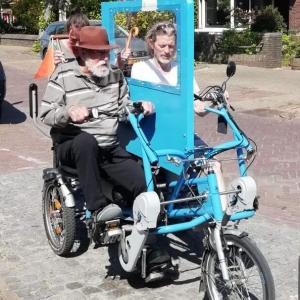 一緒に自転車に乗ろう!