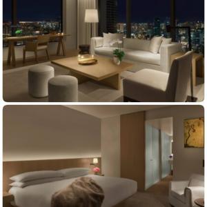 今月のおこもりステイは、5つ星ホテル、東京エディション虎ノ門のプレミアスイート❤