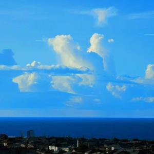 奇形な雲空2020-11