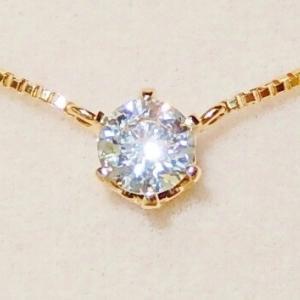★★ご子息様からお母様へのプレゼント!! ダイヤプチネックレス♪♪★★