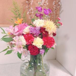 入学式のお花たち♡