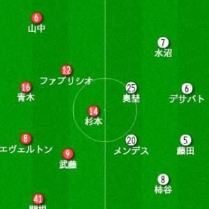 明治安田生命J1リーグ 第26節 vs 浦和レッズ プレビュー