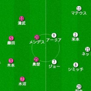 明治安田生命J1リーグ 第19節 vs 名古屋グランパス プレビュー