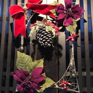 ★【クリスマスリース】パパママへ贈る@小学生の作品