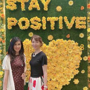 【フラワーセラピー】#STAY POSITIVE な夏 ファンケル 銀座