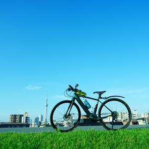 2週間ぶりのサイクリング。