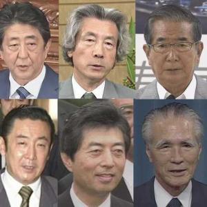 【考察】歴代首相と地価の相関関係
