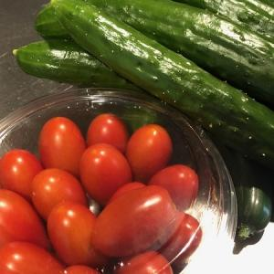 旬のお野菜と果物