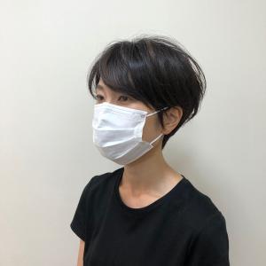 マスクに合うショートカット