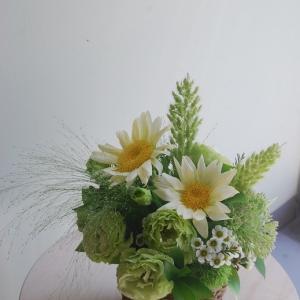 アレンジメントのご紹介。箕面花屋木花へご相談ください。