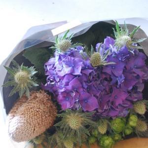 花束の発送