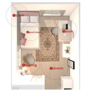 快適な部屋作りのポイントは、役割を与えること