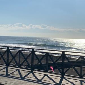 昨日のいい波から今日は小波で何とか出来ましたね〜♪(えはっち)