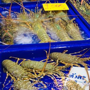 パッタヤーの海鮮市場
