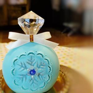 香水瓶「雪の結晶」