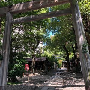 洲崎神社へお礼参り