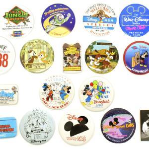 Disney/ディズニーの缶バッジ各種:)
