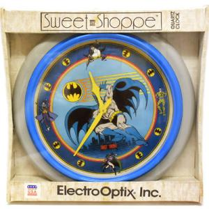 80年代!BATMAN/バットマンの大きな大きな壁掛け時計:)