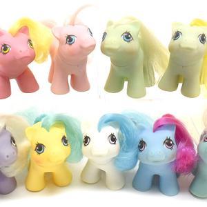 G1*My Little Pony Newborn★