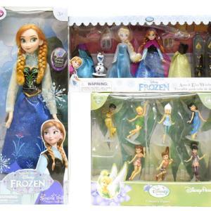 アナと雪の女王とディズニーフェアリーズ(ティンカーベル)のドール&フィギュア:)