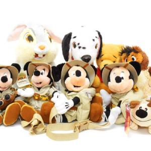 ディズニーのぬいぐるみ各種(ミキミニ、101、プー、バンビ、ムーラン)をピック:)