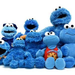 Sesame Street/セサミストリート・クッキーモンスターのぬいぐるみ各種:)