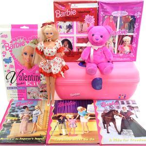 90s*Barbie/バービー☆バレンタインアイテムなど♪