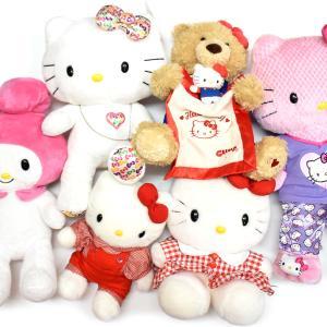 Hello Kitty & My Melody・ハローキティとマイメロディのぬいぐるみ♪