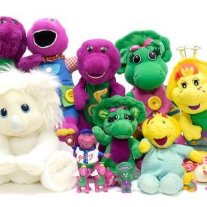 Barney&Friends/バーニー&フレンズのぬいぐるみ&フィギュアをピック:)
