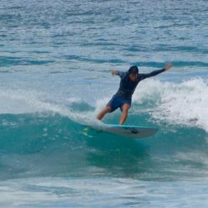 サーフィンの質問で1番テイクオフ速いのは〜お友達と2人でダブルオーダーありがとうございます〜♪