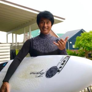 ここ最近では一番いい波でサーフィンやれた〜週末も混雑や熱中症に気をつけて楽しみましょう〜♪