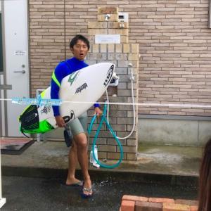 太志プロはロングスプリングでも暑いって〜パワーない小波でも調子よくサーフィンするために〜♪