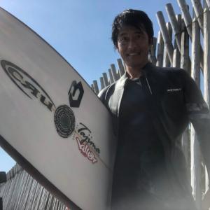宮崎の波と食を満喫して羽田空港へ90分の空の旅を〜サーフィン行くのに自動車から飛行機の時代〜♪