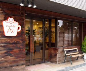 散歩の後のカフェ!